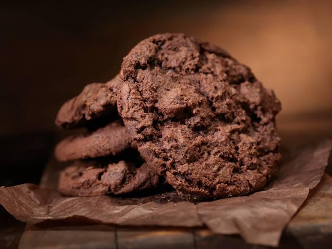 frollini al cioccolato fondente