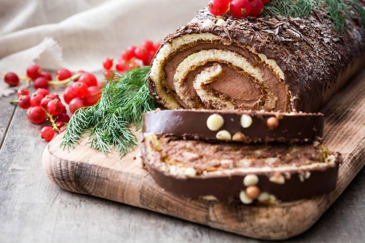 Tronchetto Di Natale Foto.Tronchetto Di Natale Al Mascarpone E Nutella Dolci Golosi