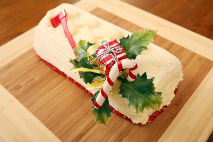 Tronchetto Di Natale Al Tiramisu.Tronchetto Di Pandoro Al Tiramisu Dolci Natalizi