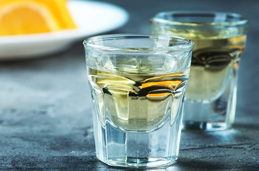Liquore di mandarini cinesi