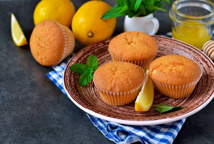 tortine alla fecola e limone