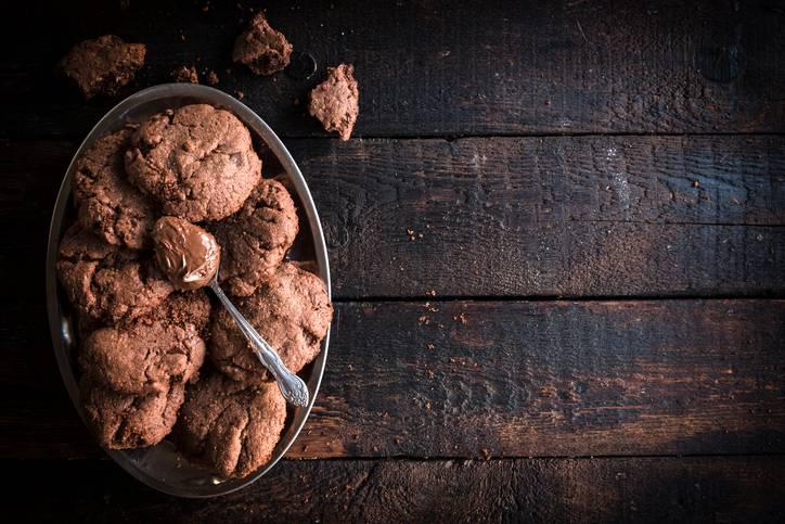 Biscotti morbidi alle noci senza burro