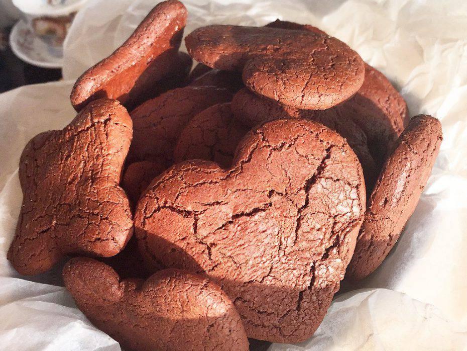 biscotti al cioccolato con Nutella