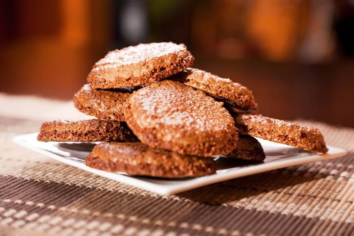 biscotti integrali al miele senza zucchero e burro