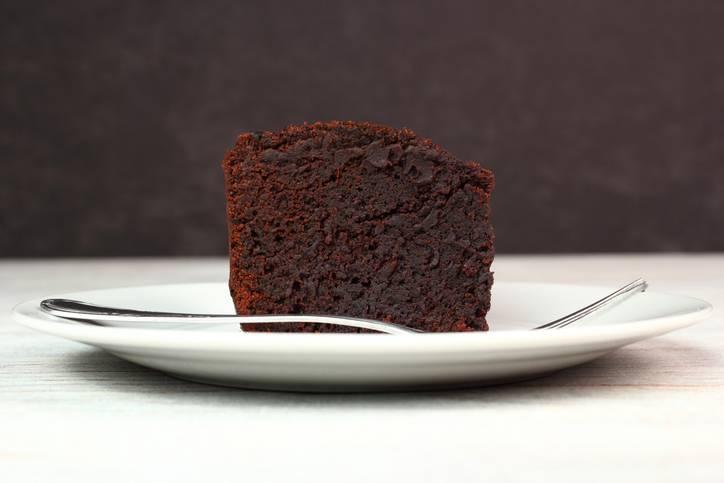 Cheesecake giapponese al cioccolato, deliziosa e soffice come una nuvola