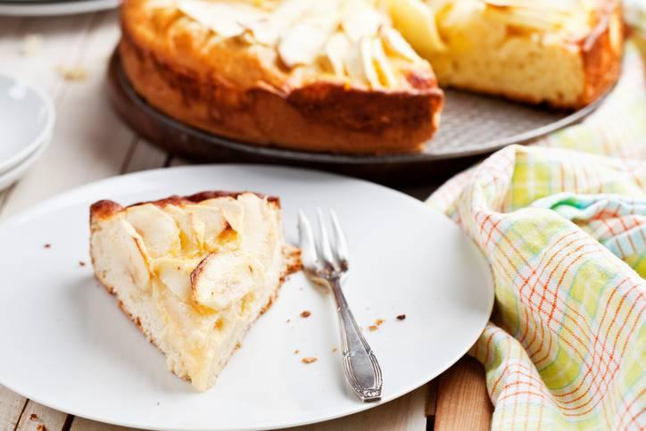 torta di mele senza lievito