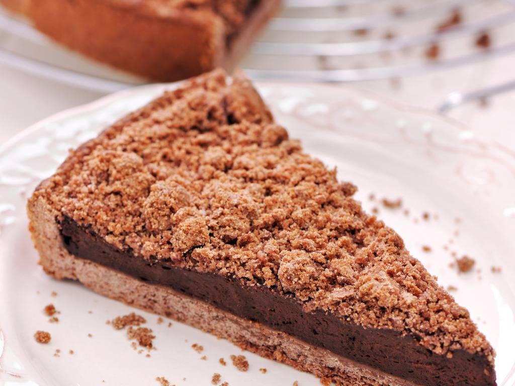 Crostata crema al cioccolato morbida