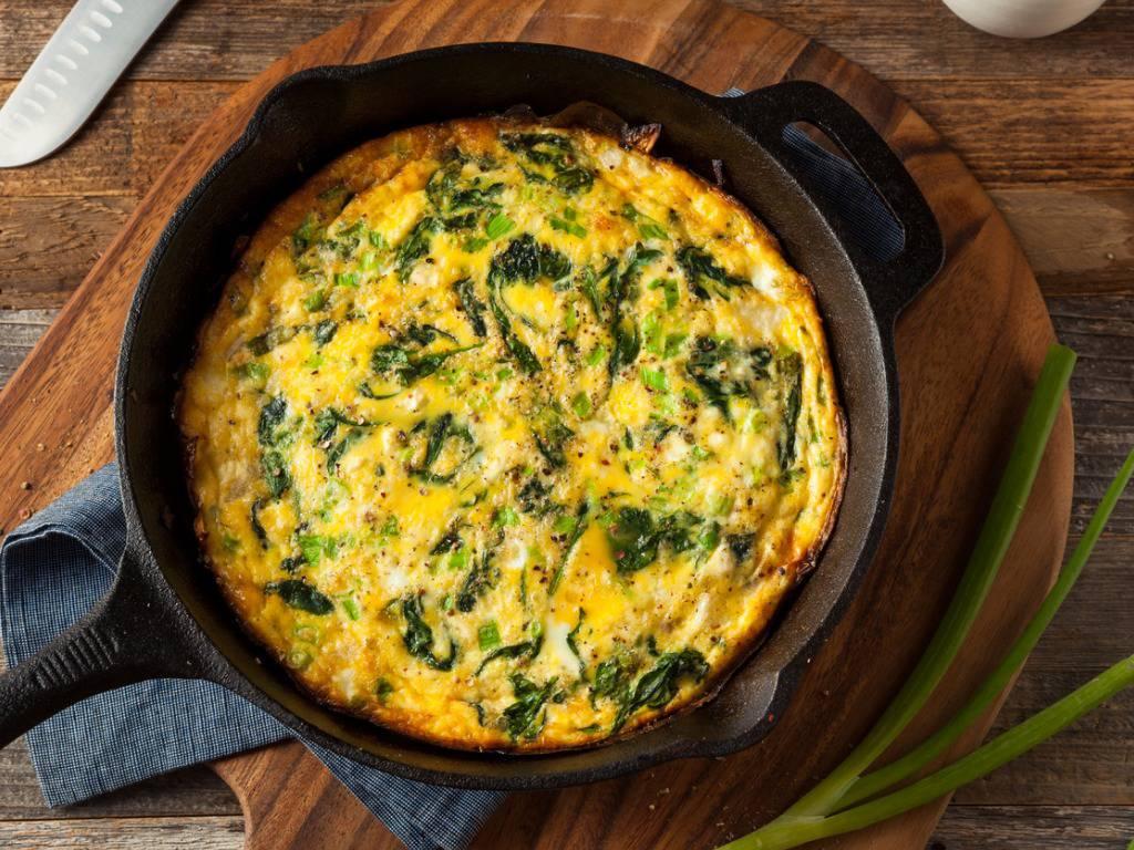 Frittata di spinaci e ricotta, una portata leggerissima da cuocere al forno