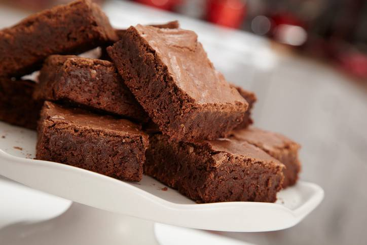 brownies con tre ingredienti