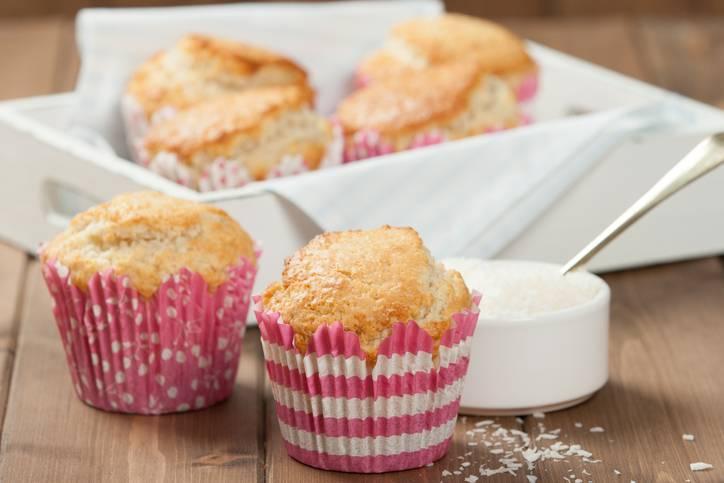 muffin al cocco vegani