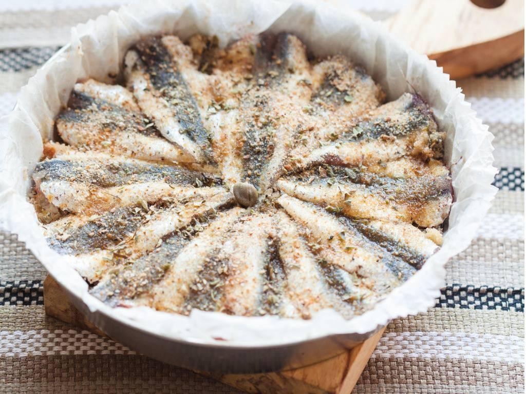 Alici in tortiera, un antipasto di mare super gustoso da servire