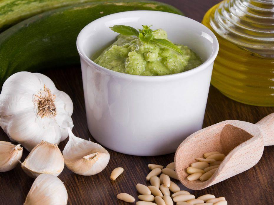 Pesto di zucchine con Bimby