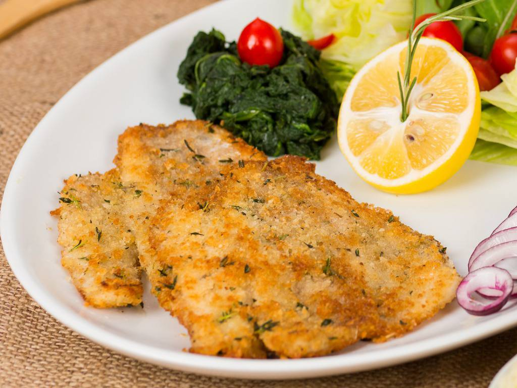 Cotolette di pesce spada fritte