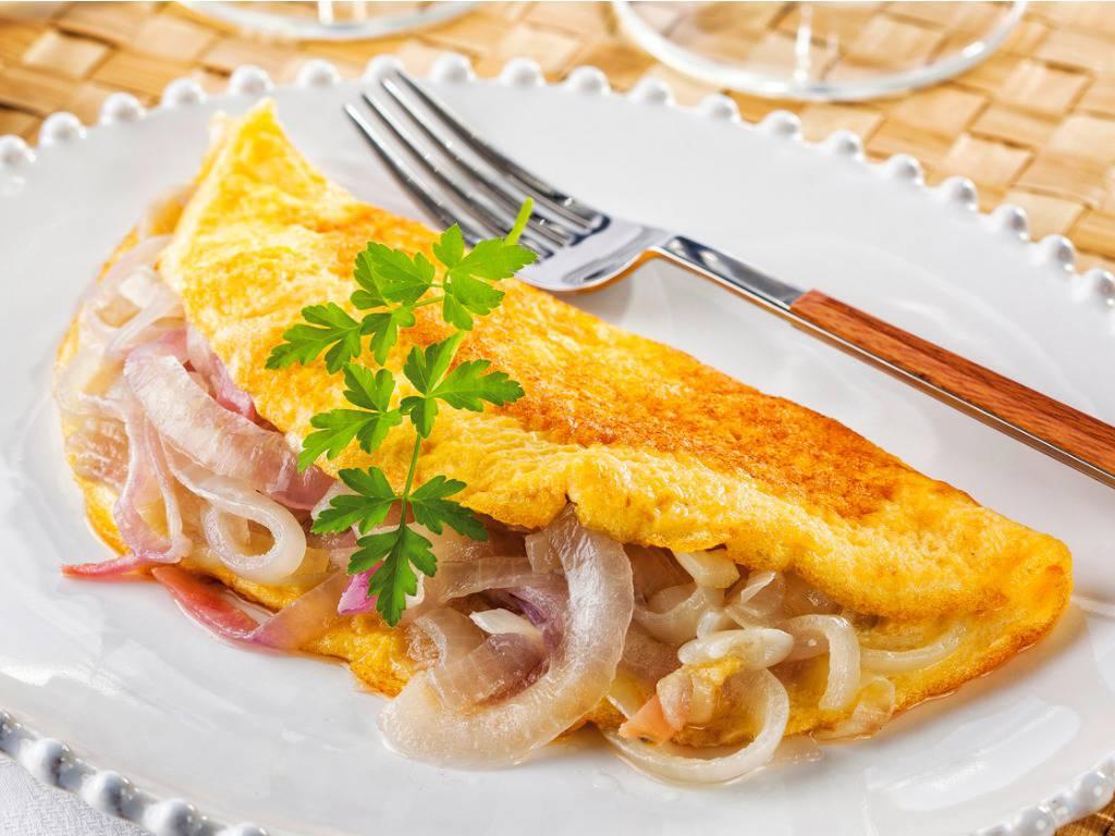 Omelette in padella