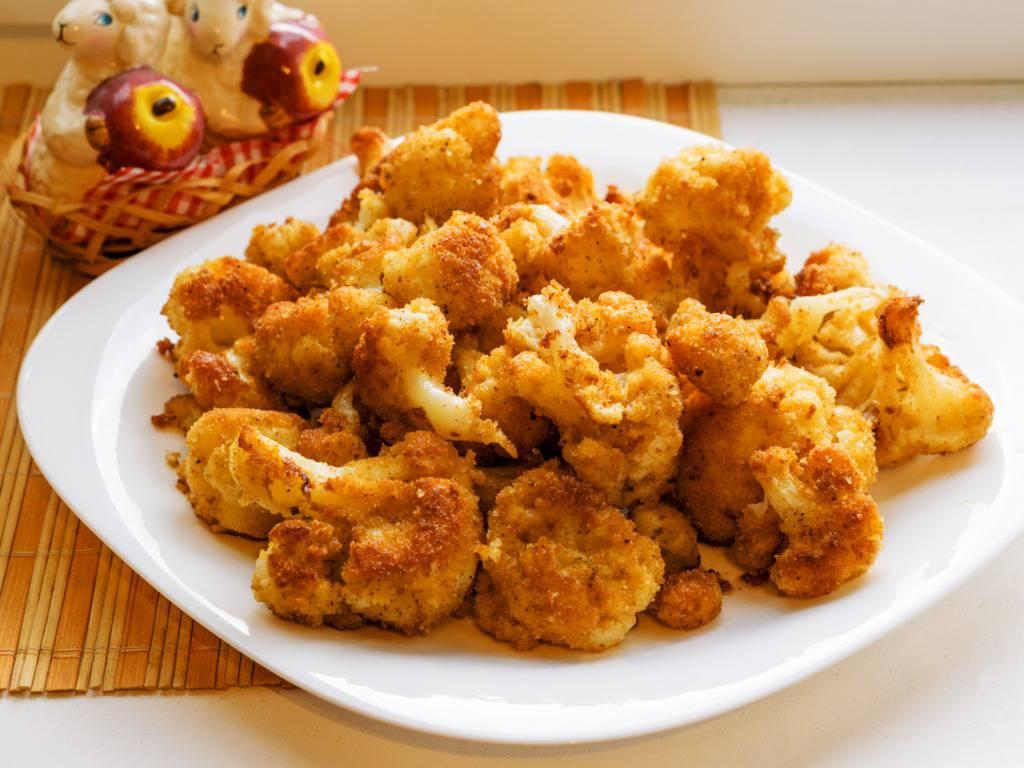 Cavolfiore fritto dorato