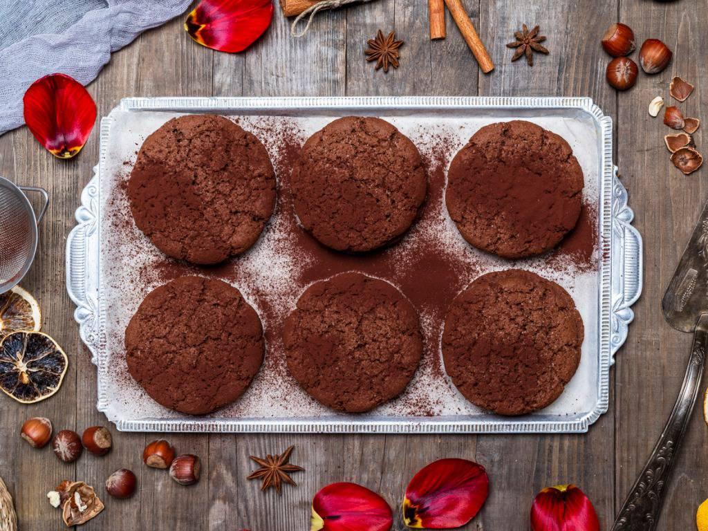 Biscotti al cacao senza burro,  una leggera delizia da gustare a merenda
