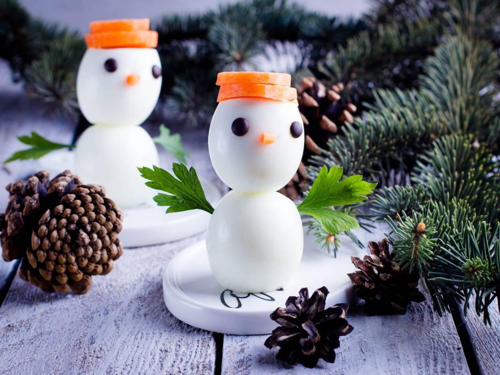 Immagini Di Natale Pupazzi Di Neve.Pupazzi Di Neve Con Uova Ecco Come Preparare Questo Antipasto Natalizio