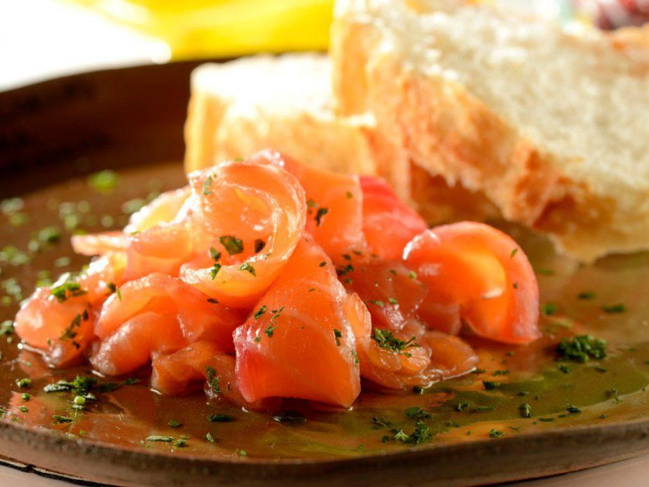 salmone alle noci