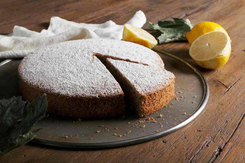 torta al tè nero