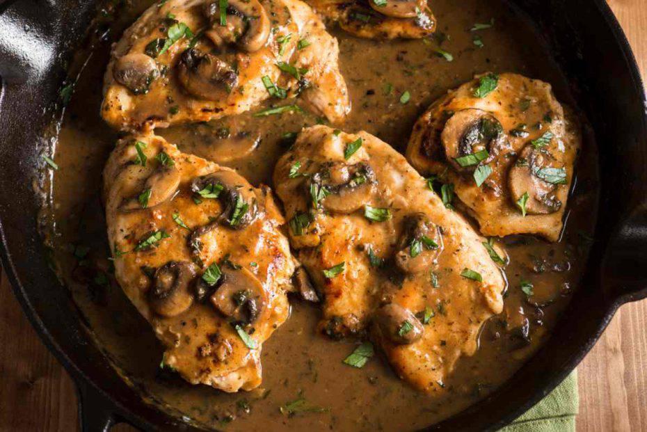 petto di pollo cremoso senza panna