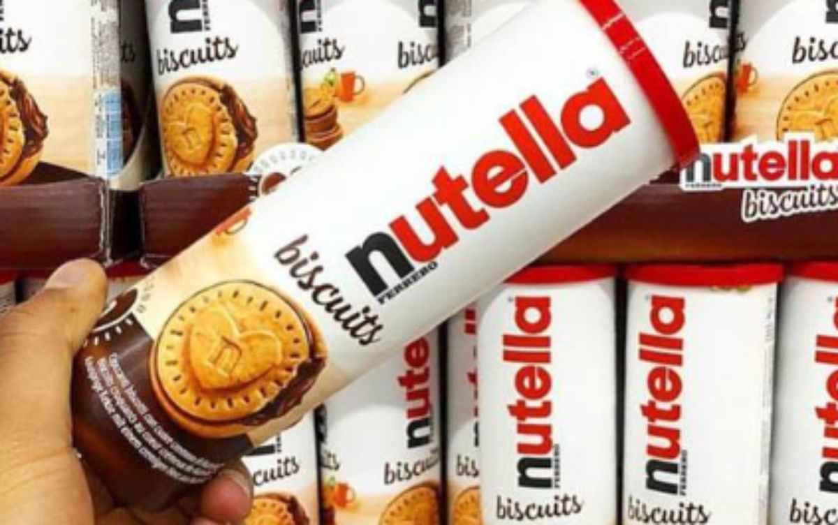 Ferrero, arrivano i biscotti farciti alla Nutella