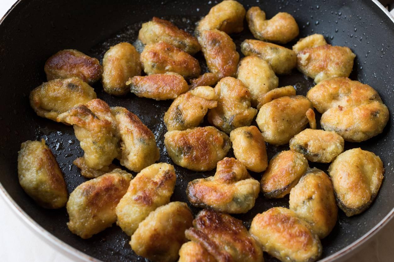Cozze fritte, un antipasto gustosissimo semplice e veloce da preparare