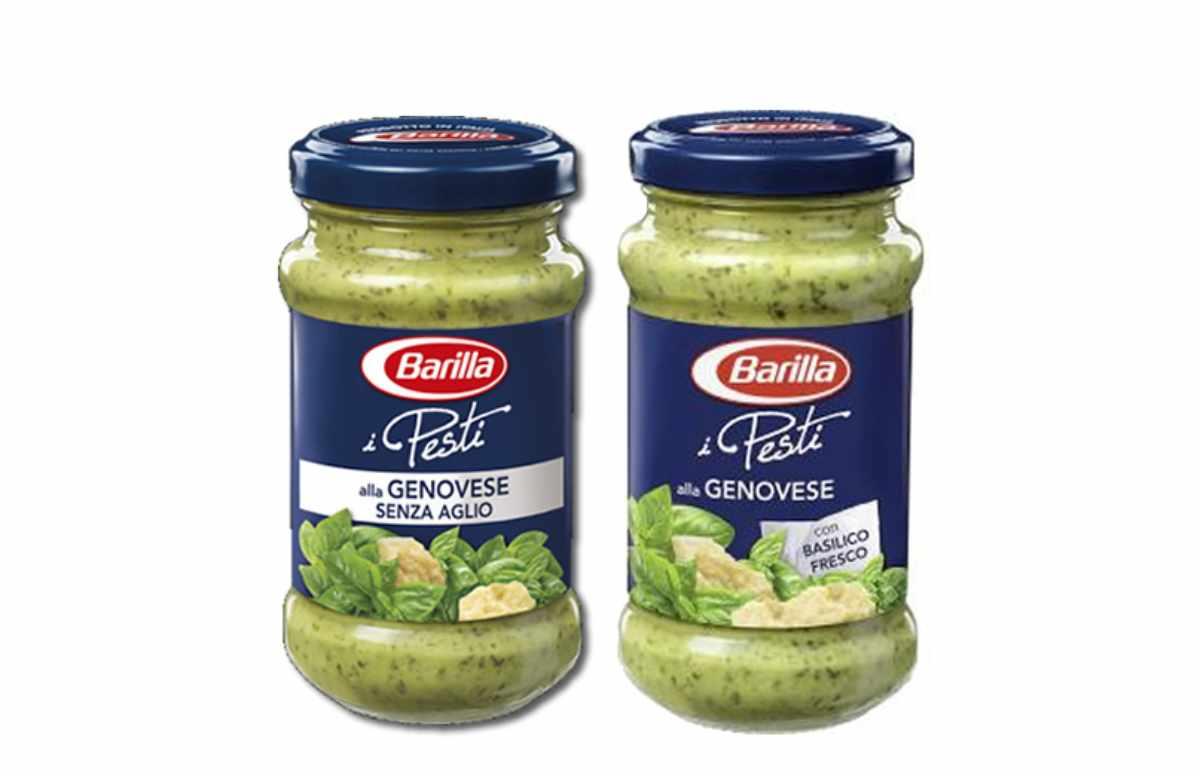 Pesto Barilla, ricetta salutare con basilico fresco e Parmigiano Dop
