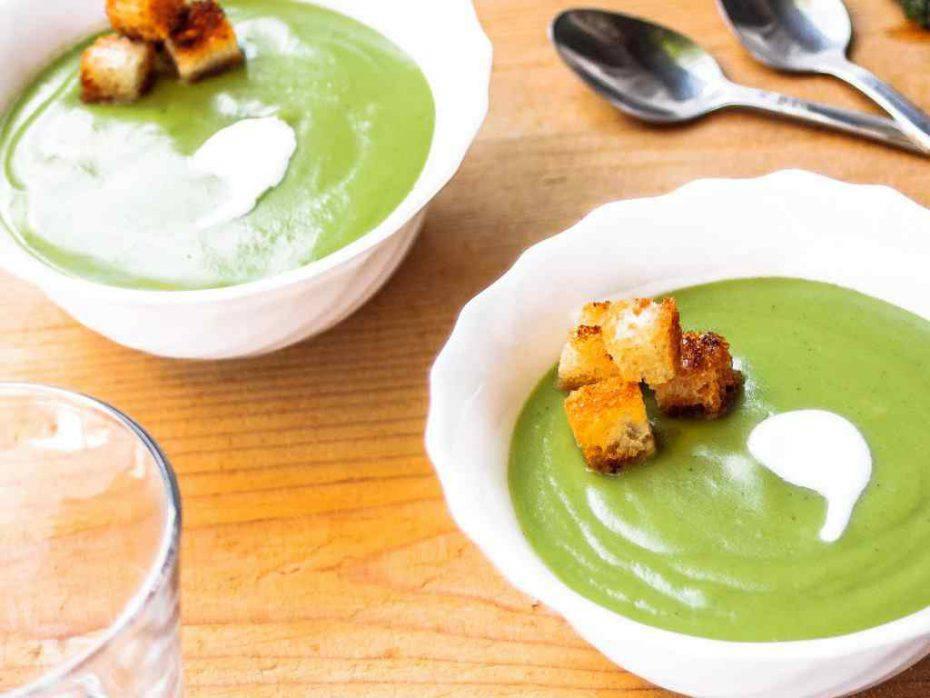 Crema di cetrioli e yogurt