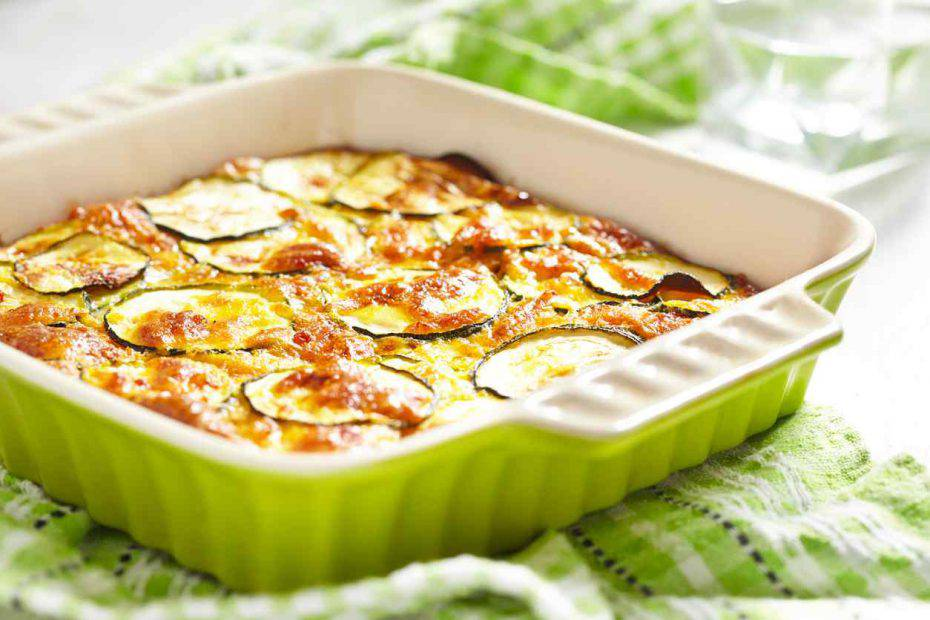 zucchine al forno con formaggio