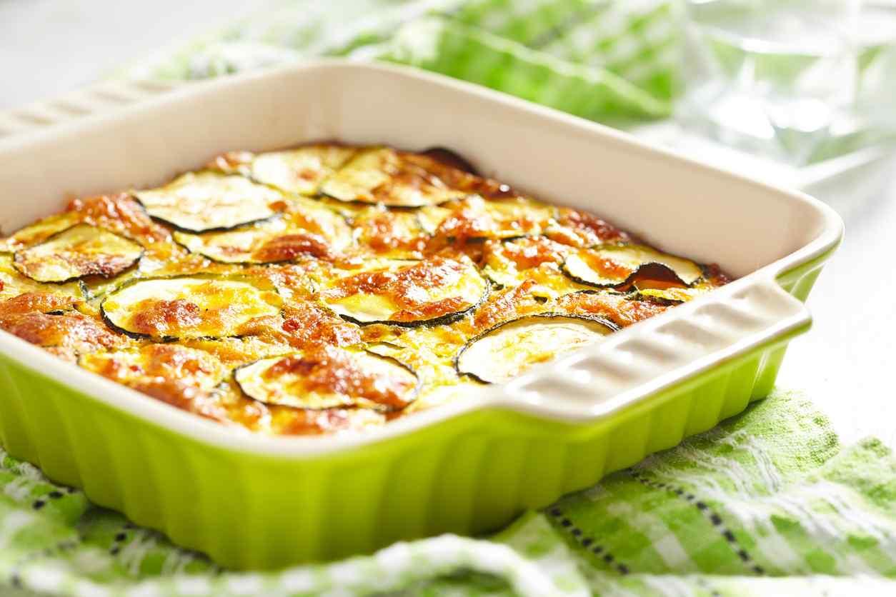 Zucchine gratinate al parmigiano, un contorno saporito e leggero