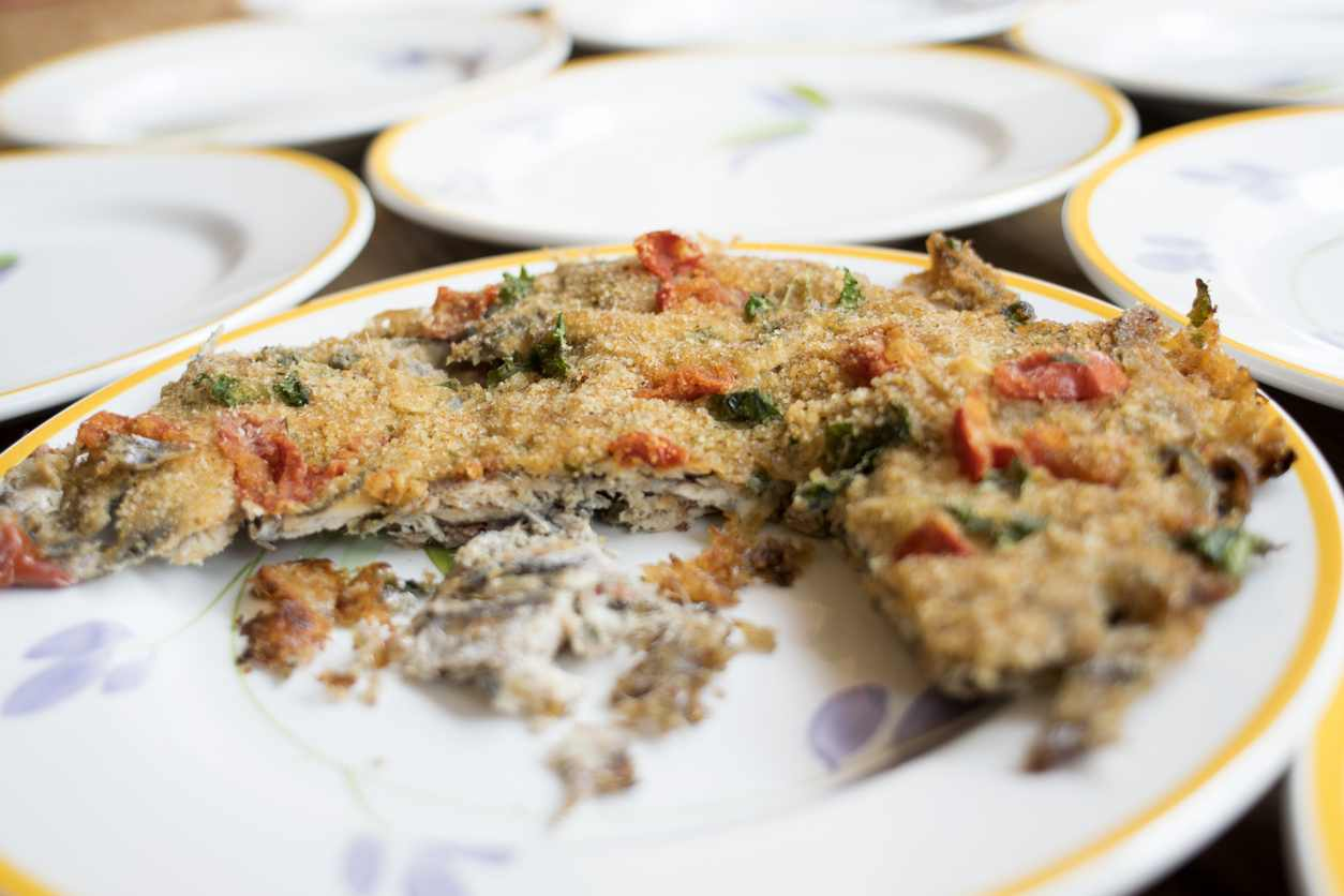 Alici ammollicate, un secondo piatto leggero e ricco di proteine