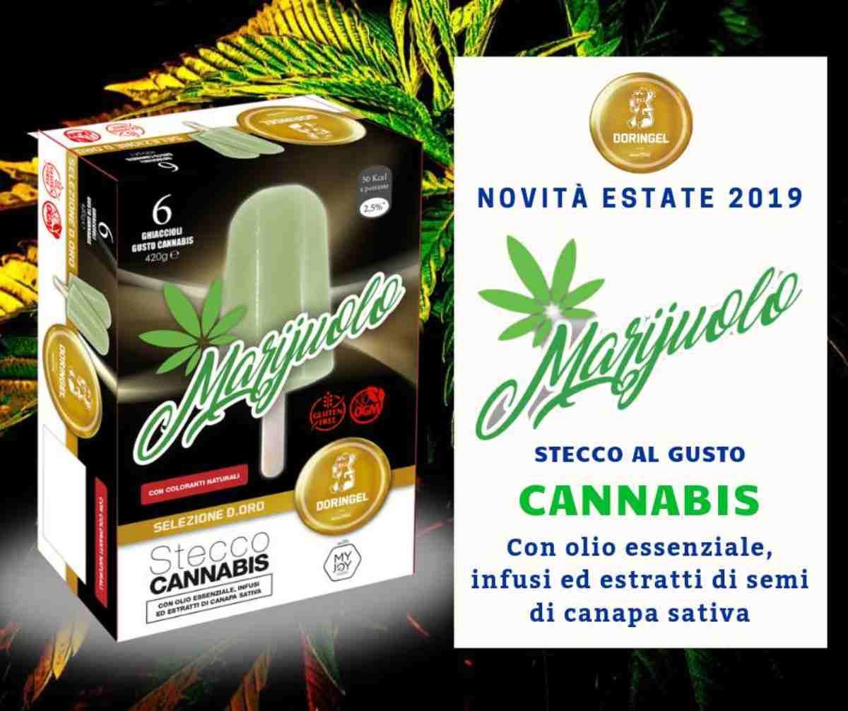 Marijuolo, il ghiacciolo alla cannabis arriva nei supermercati