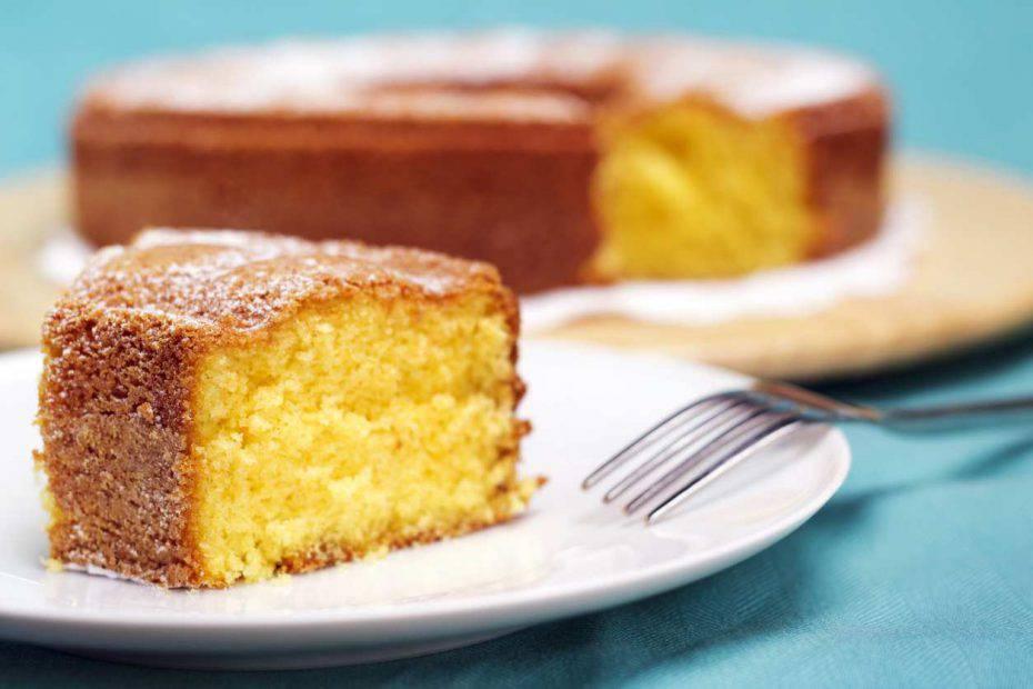 Torta Margherita senza lievito