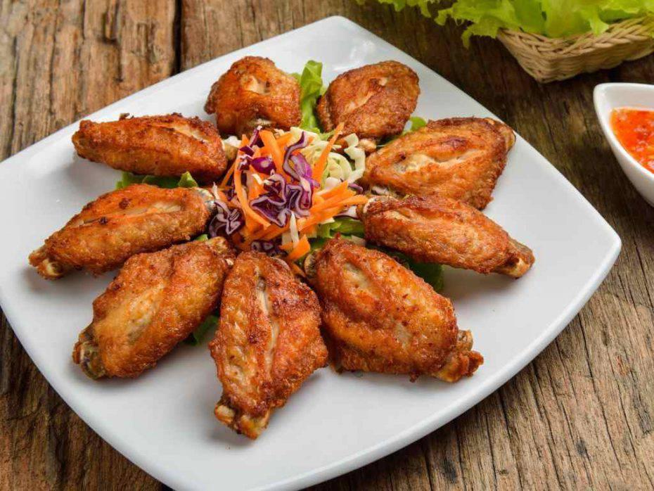 Alette di pollo sabbiate al forno