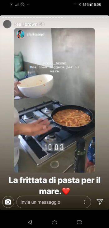Emma Marrone Frittata di pasta