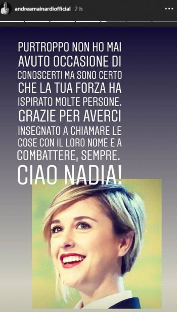 Nadia Toffa Mainardi