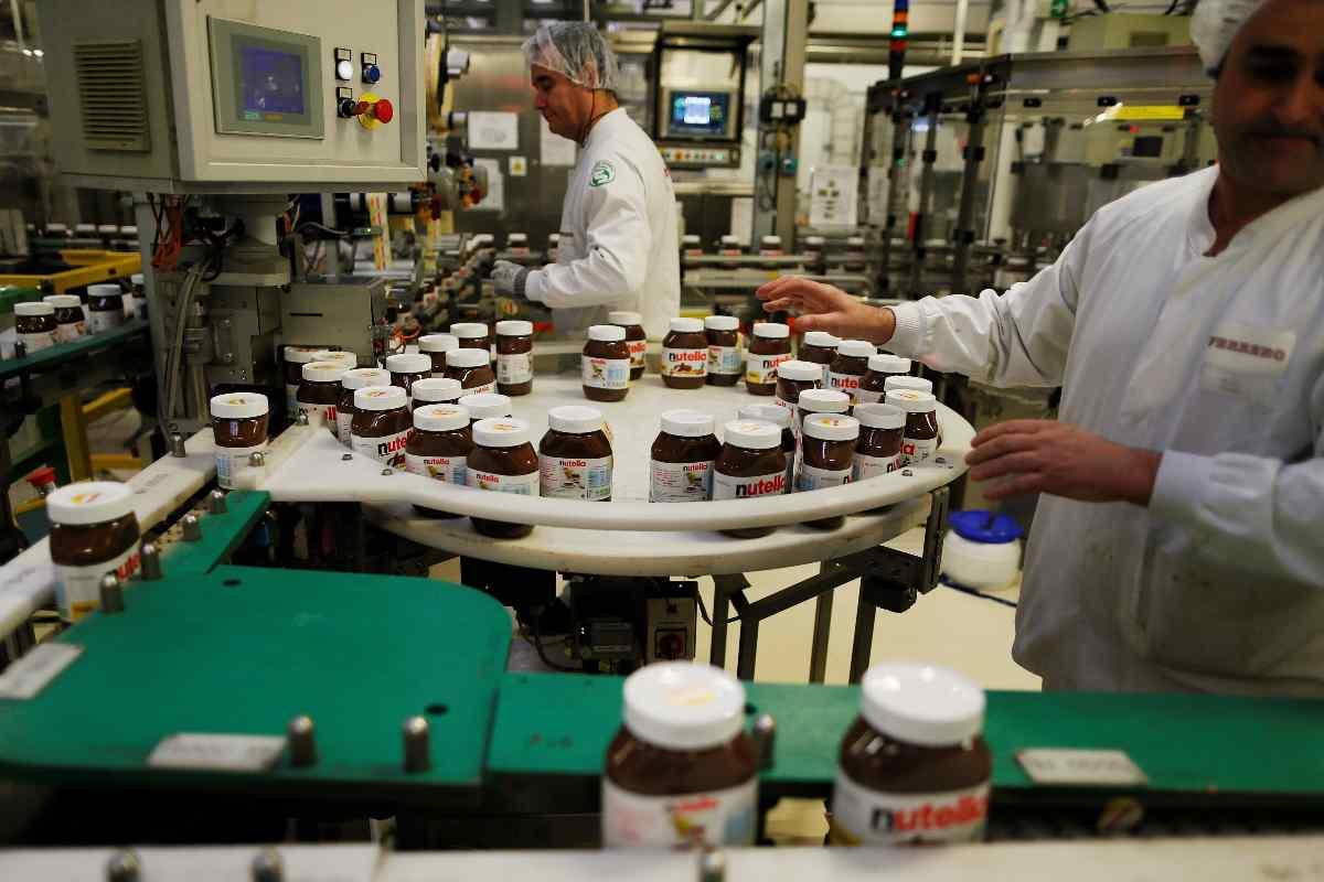 Ferrero, bonus di 2200 euro ai dipendenti per i risultati ottenuti