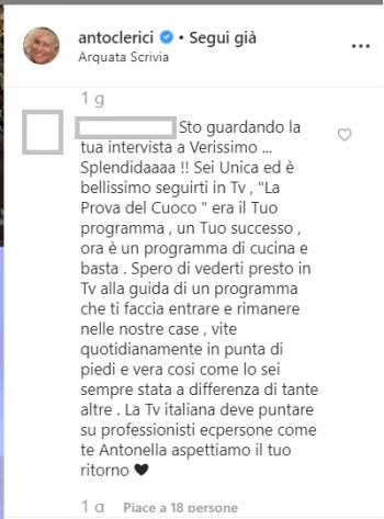 Antonella Clerici Verissimo