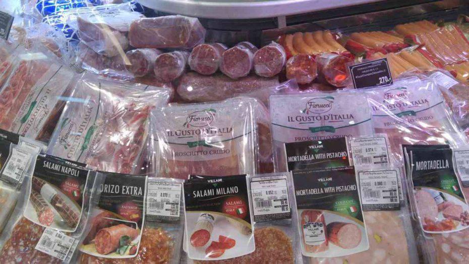 Salami ritirati dal mercato