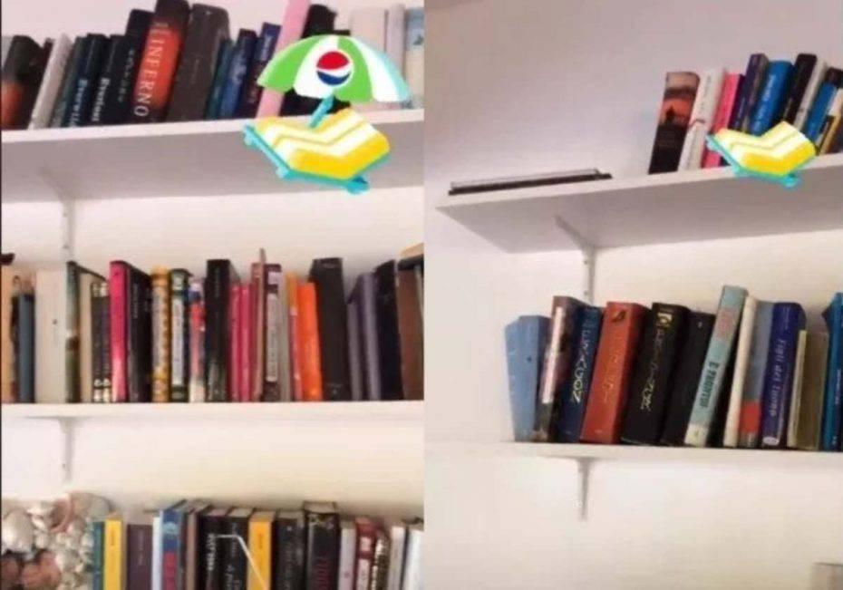 Benedetta Parodi casa libreria