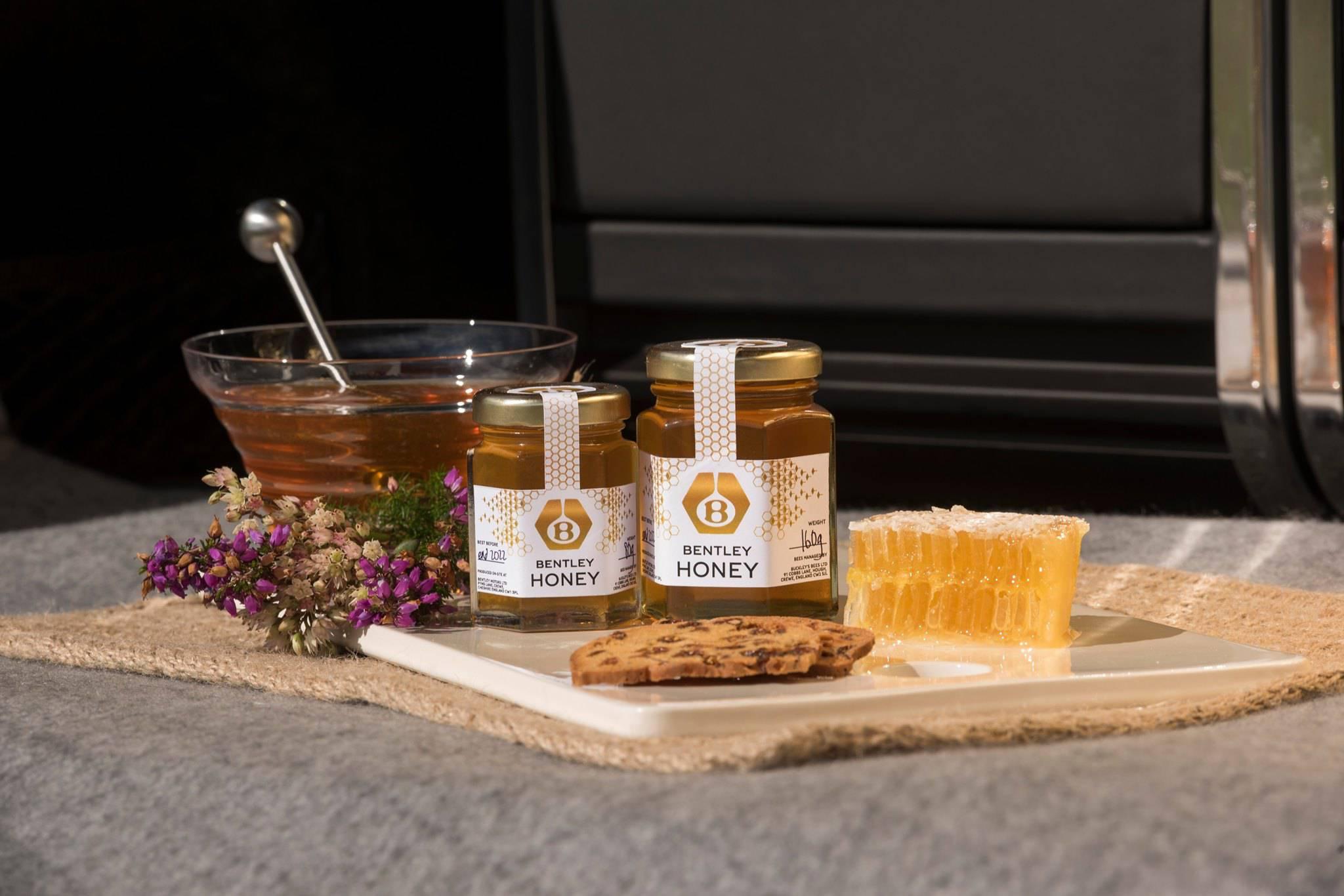 Bentley, non solo auto: il marchio produce vasetti di miele