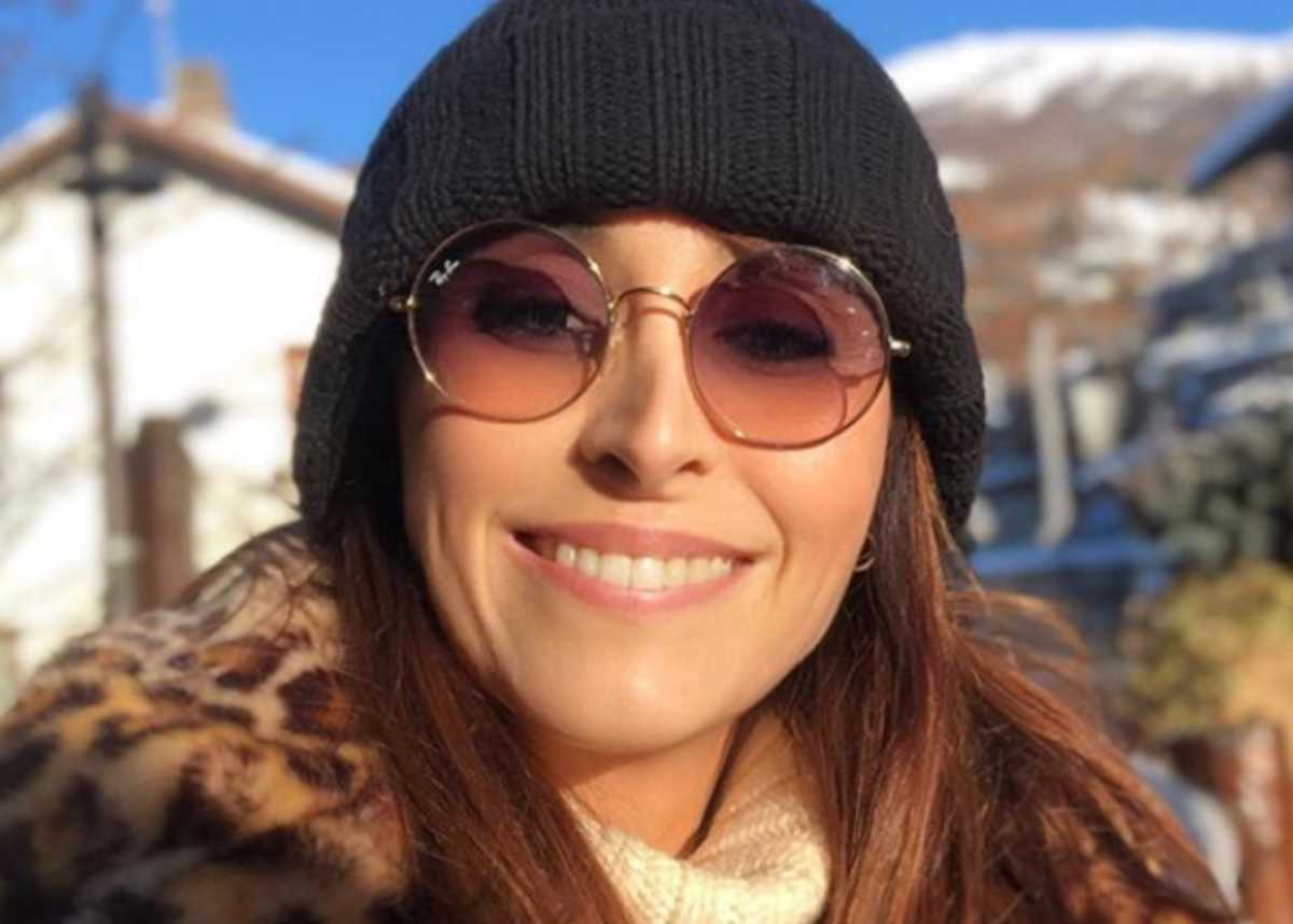 Benedetta Parodi indossa una pelliccia su Instagram: è subito polemica