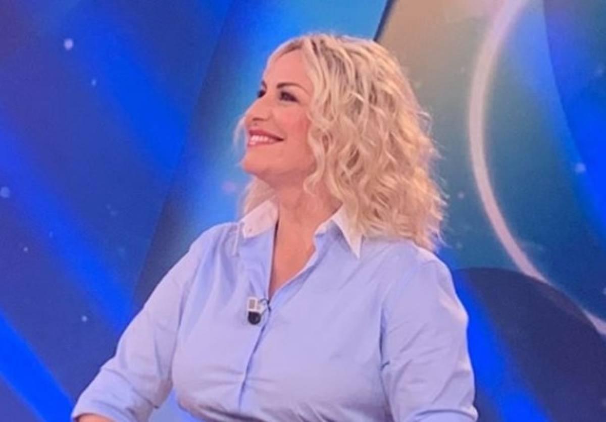 Antonella Clerici in tv