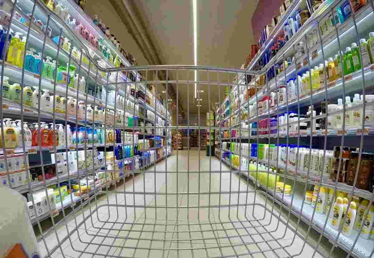 Supermercato spesa dieta