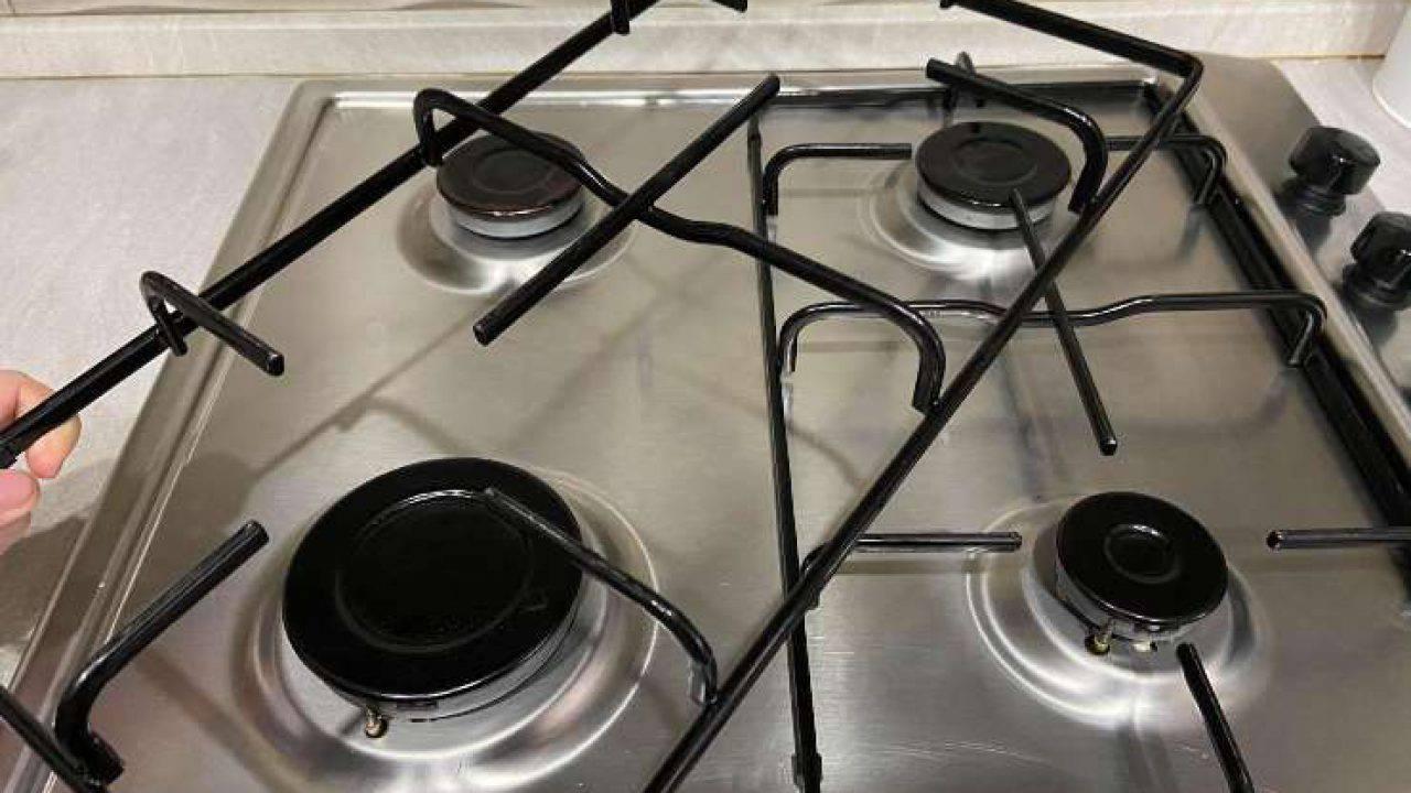 Come Pulire Il Piano Cottura come pulire griglie piano cottura: il metodo per farle