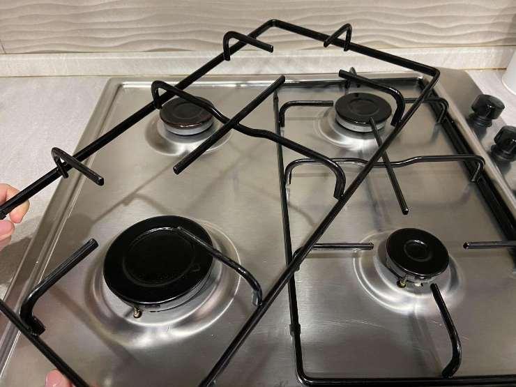 Griglie fornelli cucina