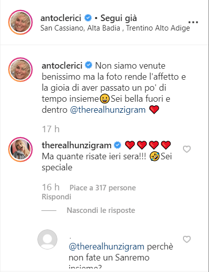 Clerici Hunziker Sanremo