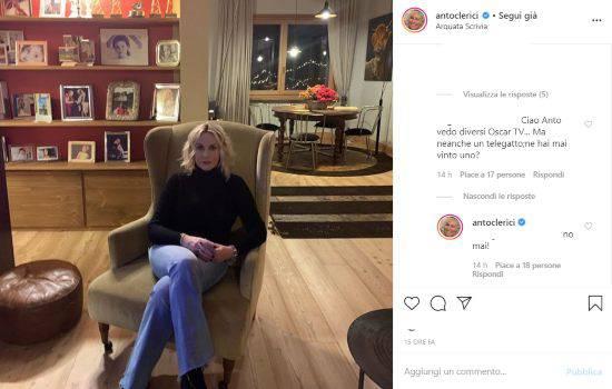Antonella Clerici Instagram