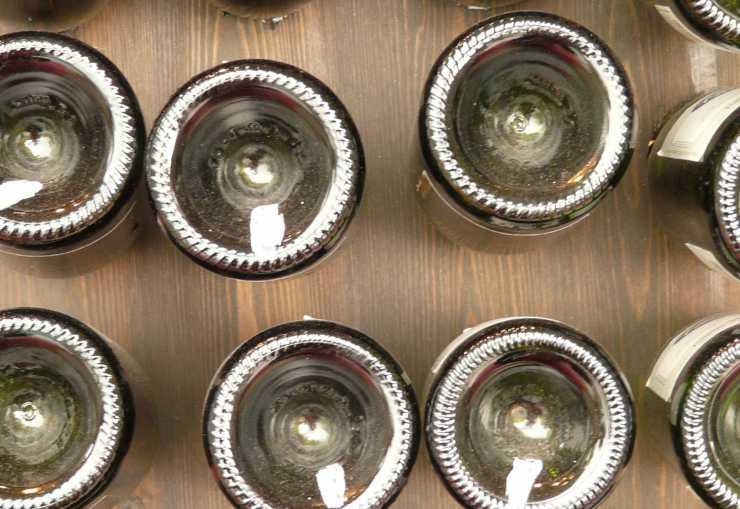 bottiglie forma concava