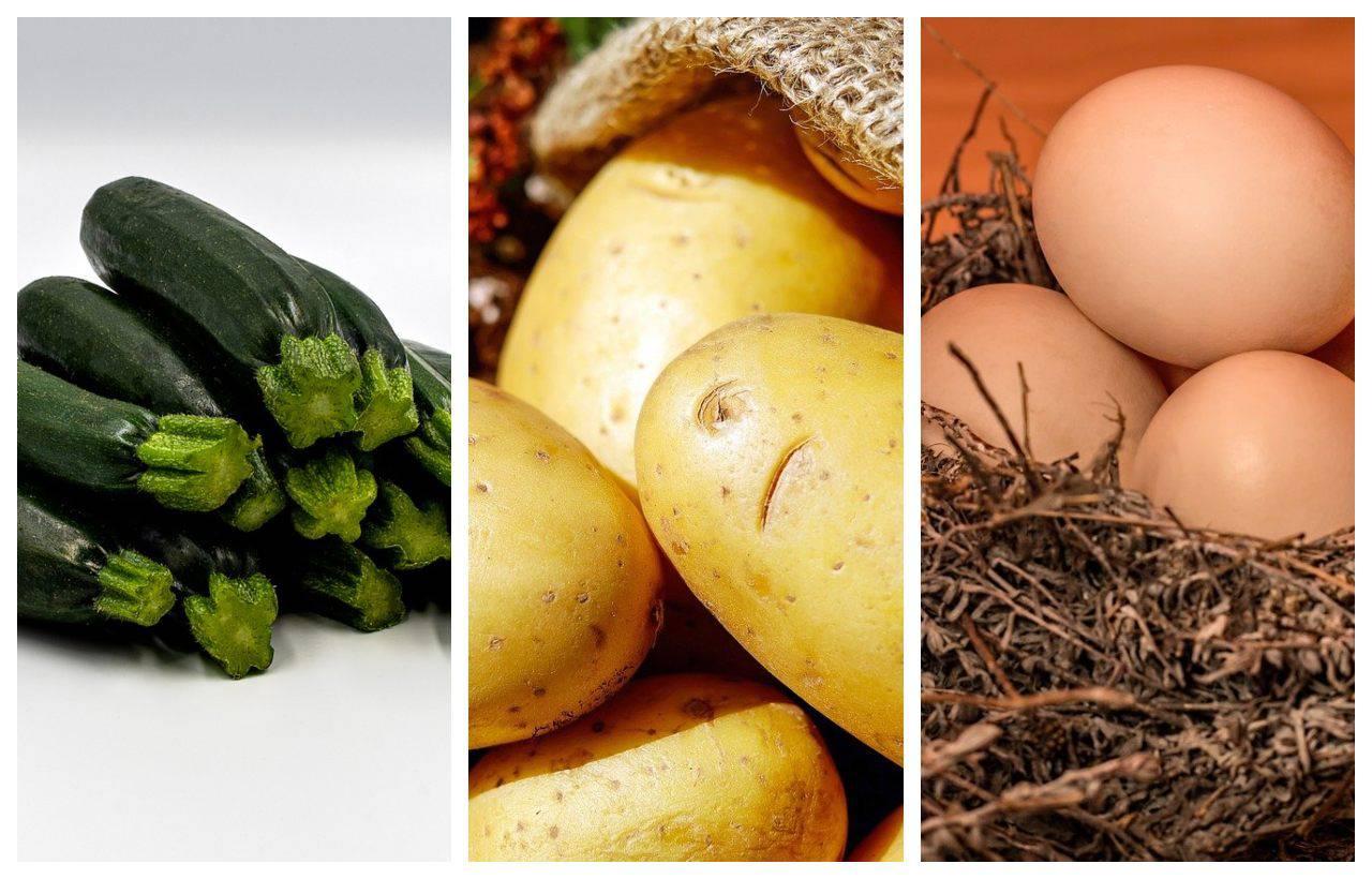 Zucchine, patate e uova: il secondo piatto cotto in forno che vi farà leccare i baffi